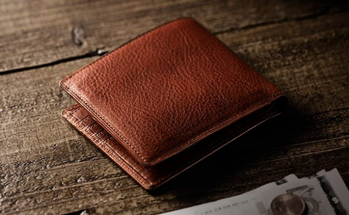 マルティーニを使った財布