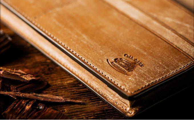 木の香りがする財布