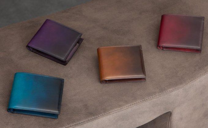 美しく希少な二つ折り財布