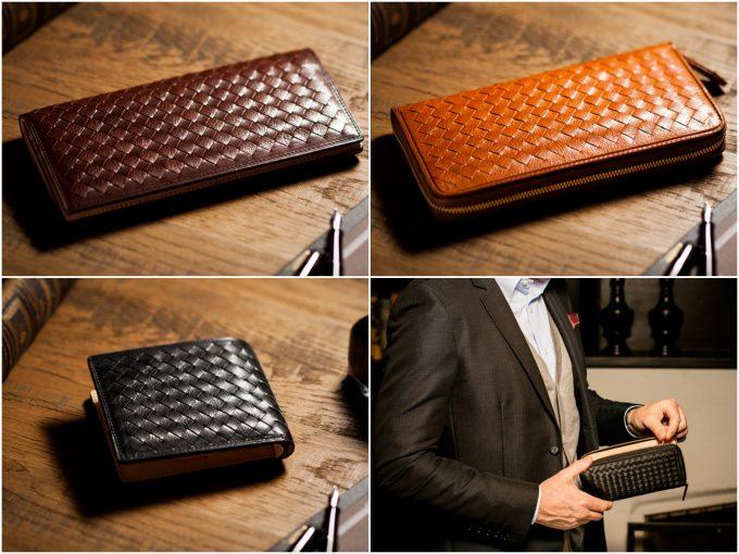 編み込み財布3選