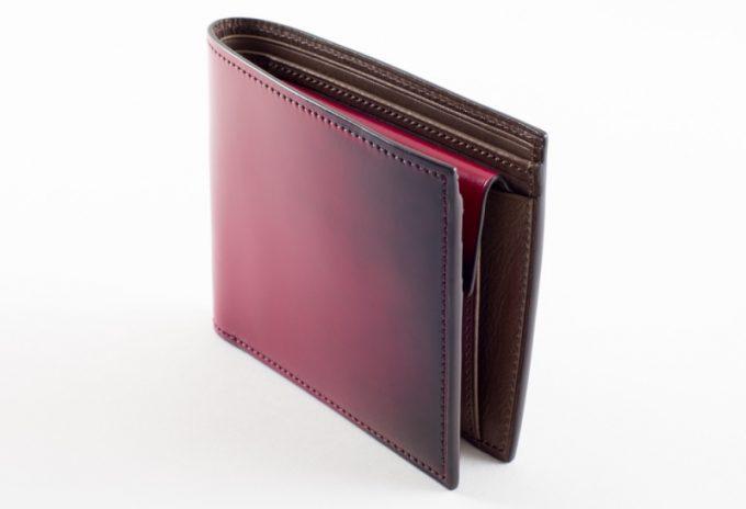 YFC131二つ折り財布の各部