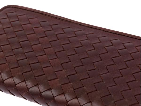 日本製の正確な編み込み財布
