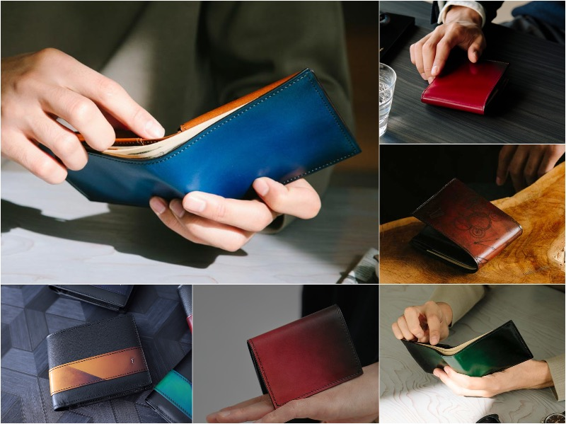カッコ良すぎるyuhaku(ユハク)の二つ折り財布おすすめ!