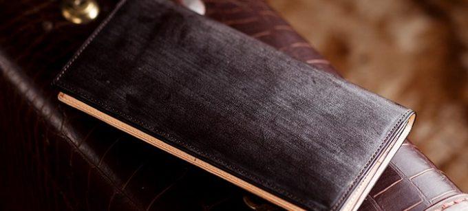 ブルームが浮き出る財布