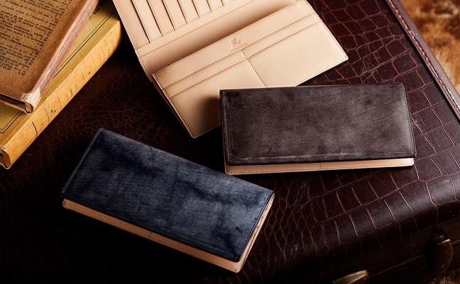 ブライドルレザーの財布
