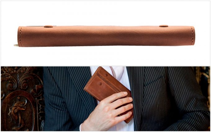 スーツの内ポケットにピッタリ入る長財布