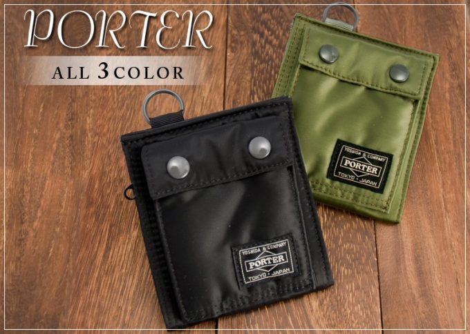 TANKER(タンカー)折り財布