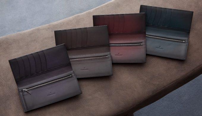 ユハクの染色を最も楽しめる財布