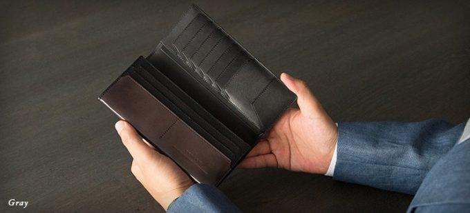 財布を開いた状態