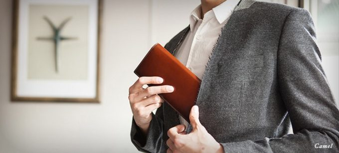 スーツの内ポケットに入る薄い長財布