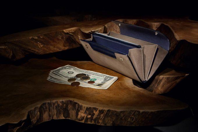 クラッチバックの様な財布