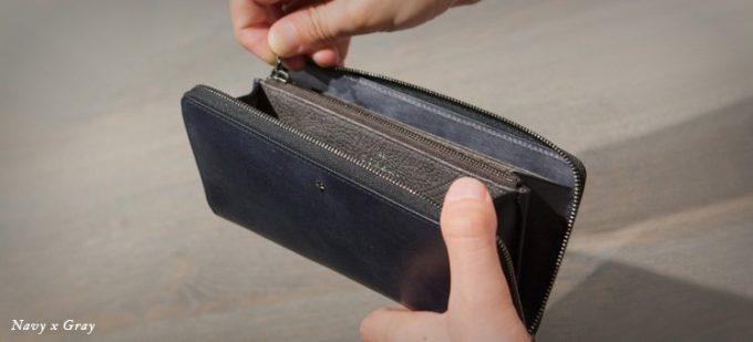ラウンドファスナー長財布の弱点克服