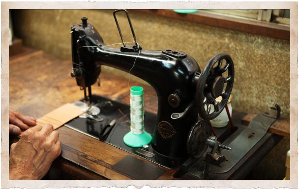 日本の縫製現場