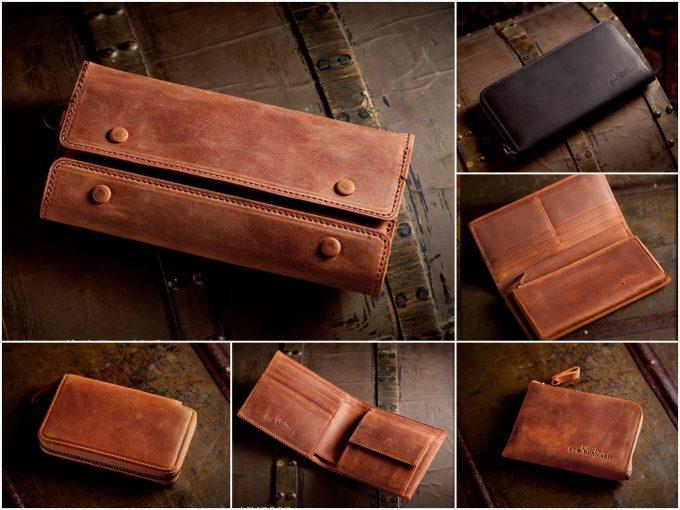 ナポレオンカーフの財布