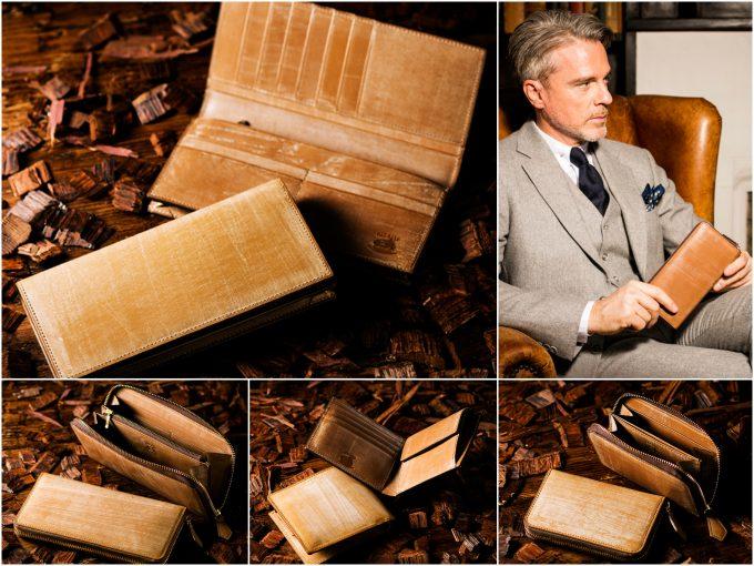 ココマイスターオークバークの財布の各種類