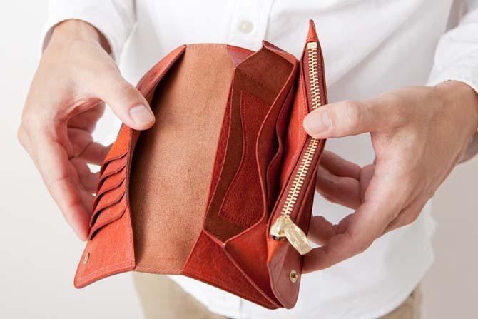ポルタセグレタのカードポケットとオープンポケット