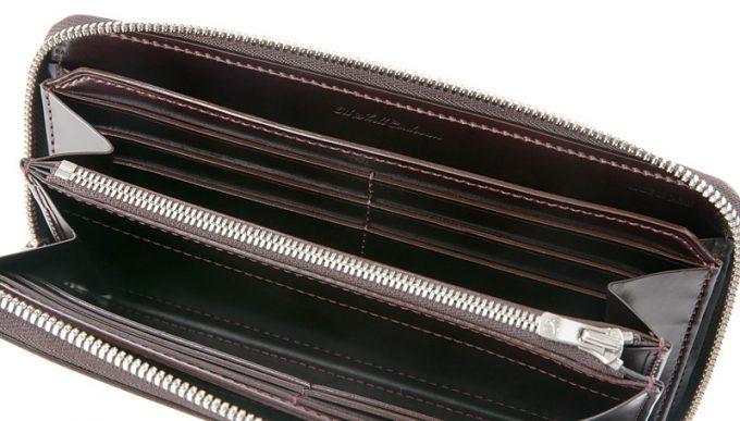アンフィニのカードポケットとフリーポケット