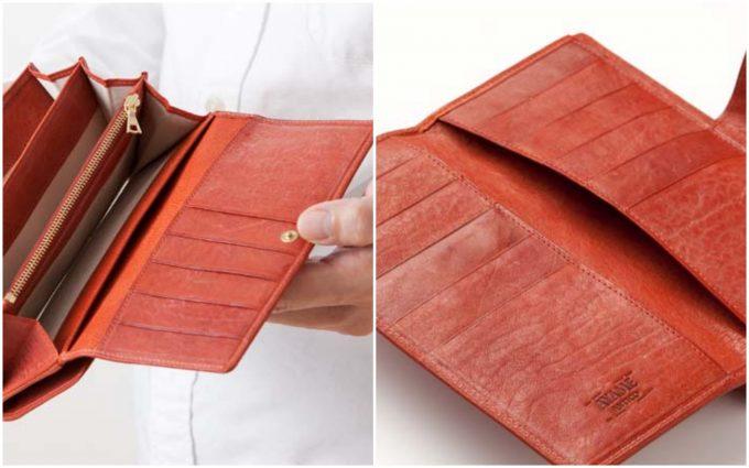 ソフィエットのカードポケットとオープンポケット