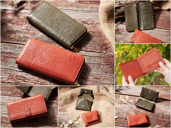 アヤメアンティーコのアルトアッシュガートシリーズの財布