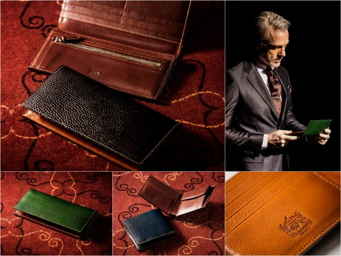 ロッソピエトラシリーズの財布