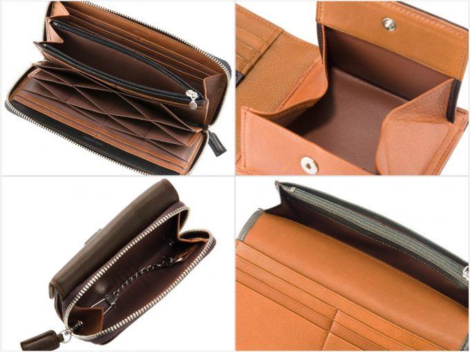 シルキーキップシリーズの財布各種