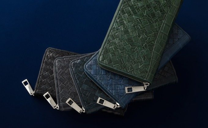 レザックポロサスシリーズの財布
