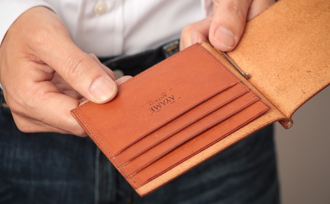 フォルマソルディのカードポケット