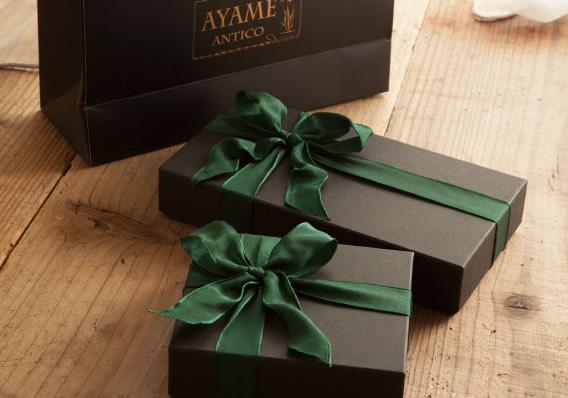 アヤメアンティーコのプレゼント用ギフトボックス