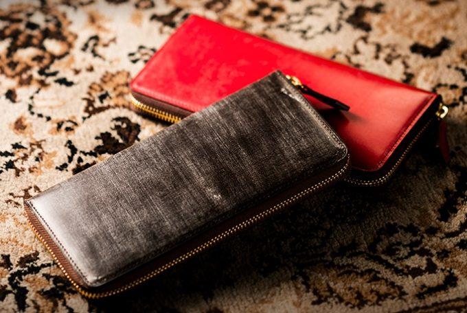ロンドンブライドルの財布(アルバートレッド)