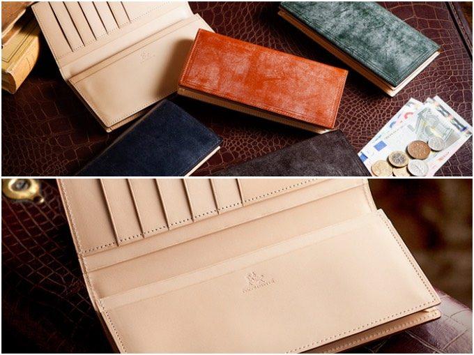ブライドルブレンデルウォレットの各カラーと内装部