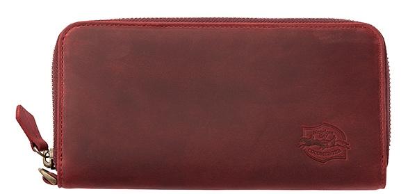 ナポレオンカーフの財布(ワイルドサンセット)