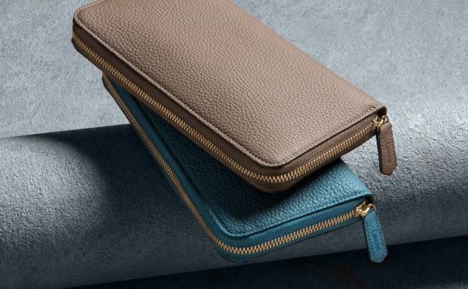 チマブエグレースフルのシュランケンカーフの財布