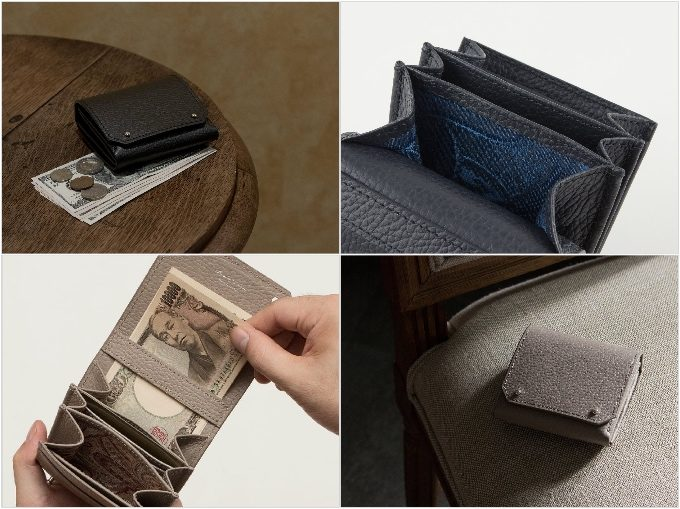 二つ折り財布FOGUEの写真