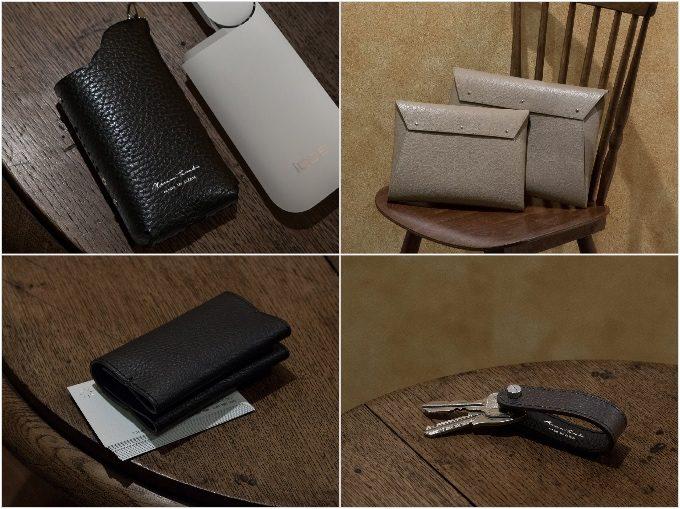 IQOS(アイコス)の革ケース含むマサミタナカの革製品