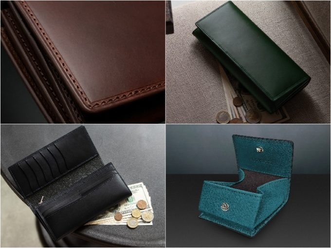 HIGE LEATHER(ヒゲレザー)の各種財布(抜粋)