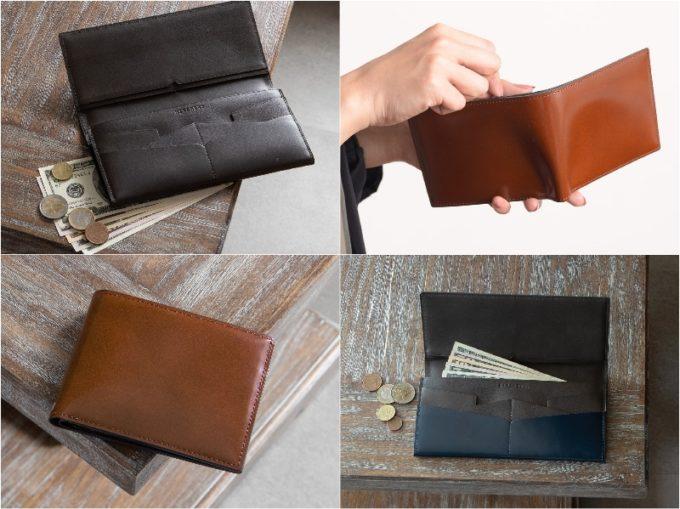 HIRAMEKI(ヒラメキ)の各種財布(抜粋)