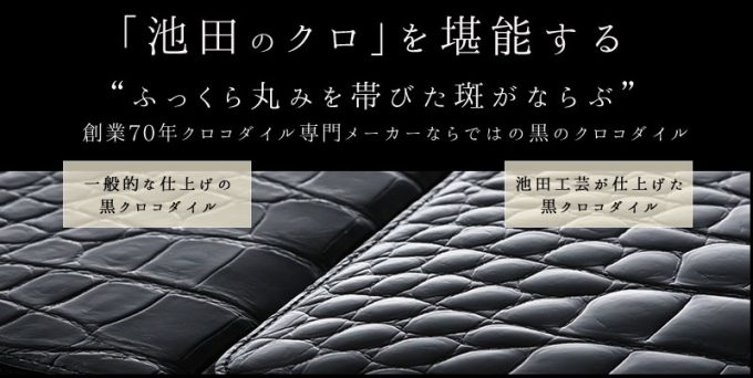 池田の財布と他社の財布の比較