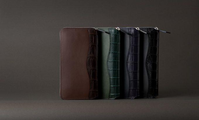 王道デザインのラウンドジップ長財布