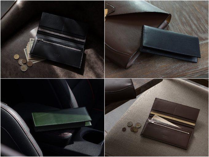 ブリランテ×リザード長財布の写真