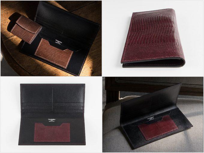 ブリランテ×リザード(トカゲ革)ラウンドジップ長財布の写真