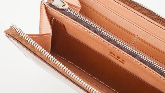 内装のカードポケットとマルチポケット