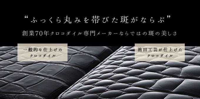 他ブランドと池田工芸の革の比較