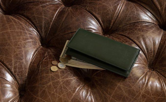 CIMABUEのブライドル長財布
