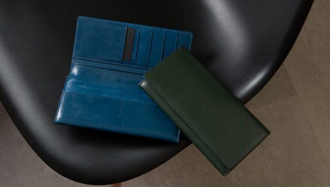カラーバリエーションのブルーとグリーン
