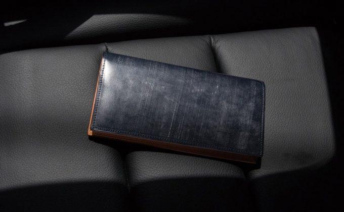 ブライドルレザーを使ったFESONブライドル長財布