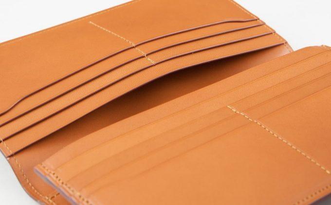 FESON(フェソン)アドバン長財布のカードポケットとマルチポケット