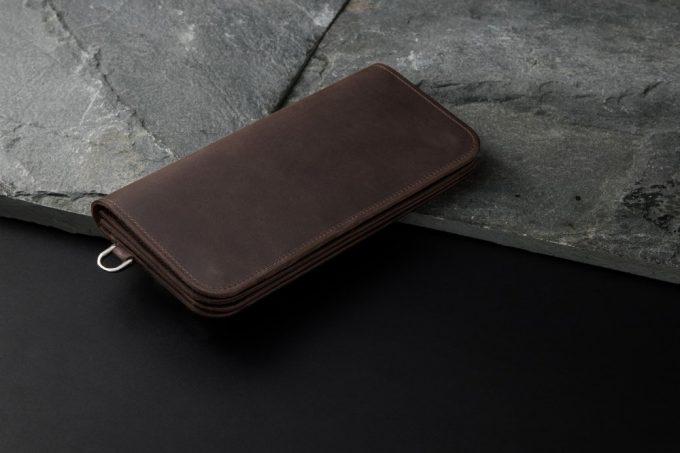 クレイジーヌバック長財布