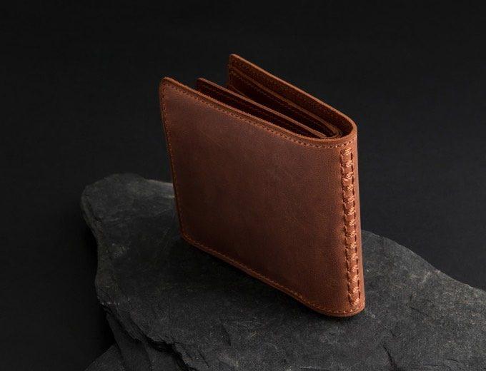 ワイルド過ぎる二宮五郎商店クレイジーヌバック二つ折り財布