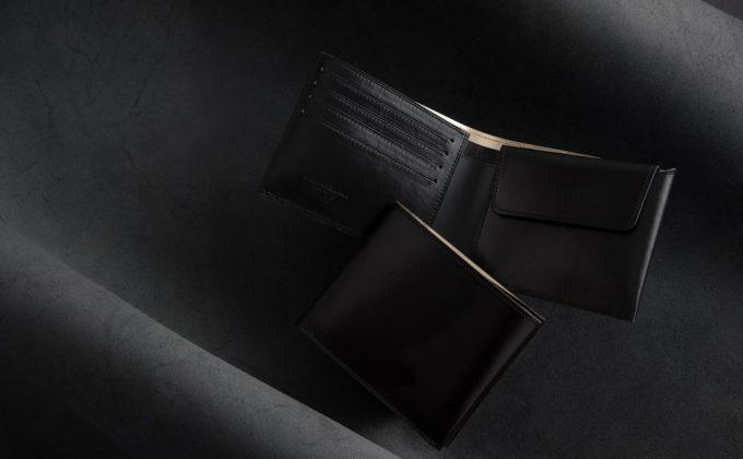 KAWAORIGAMI(革折り紙)二つ折り財布