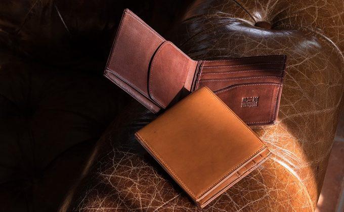 二宮五郎商店のミネルバOV二つ折り財布